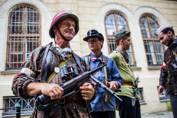 Varsói felkelés - élőszereplős csata