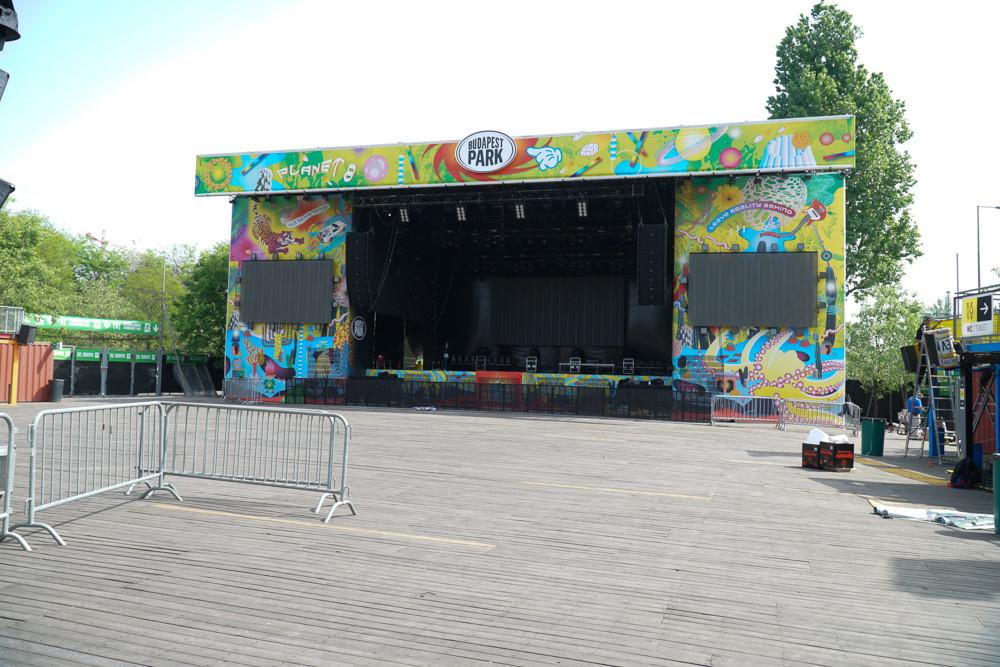 Idén sok felejthetetlen koncertnek ad majd otthont a Park színpada