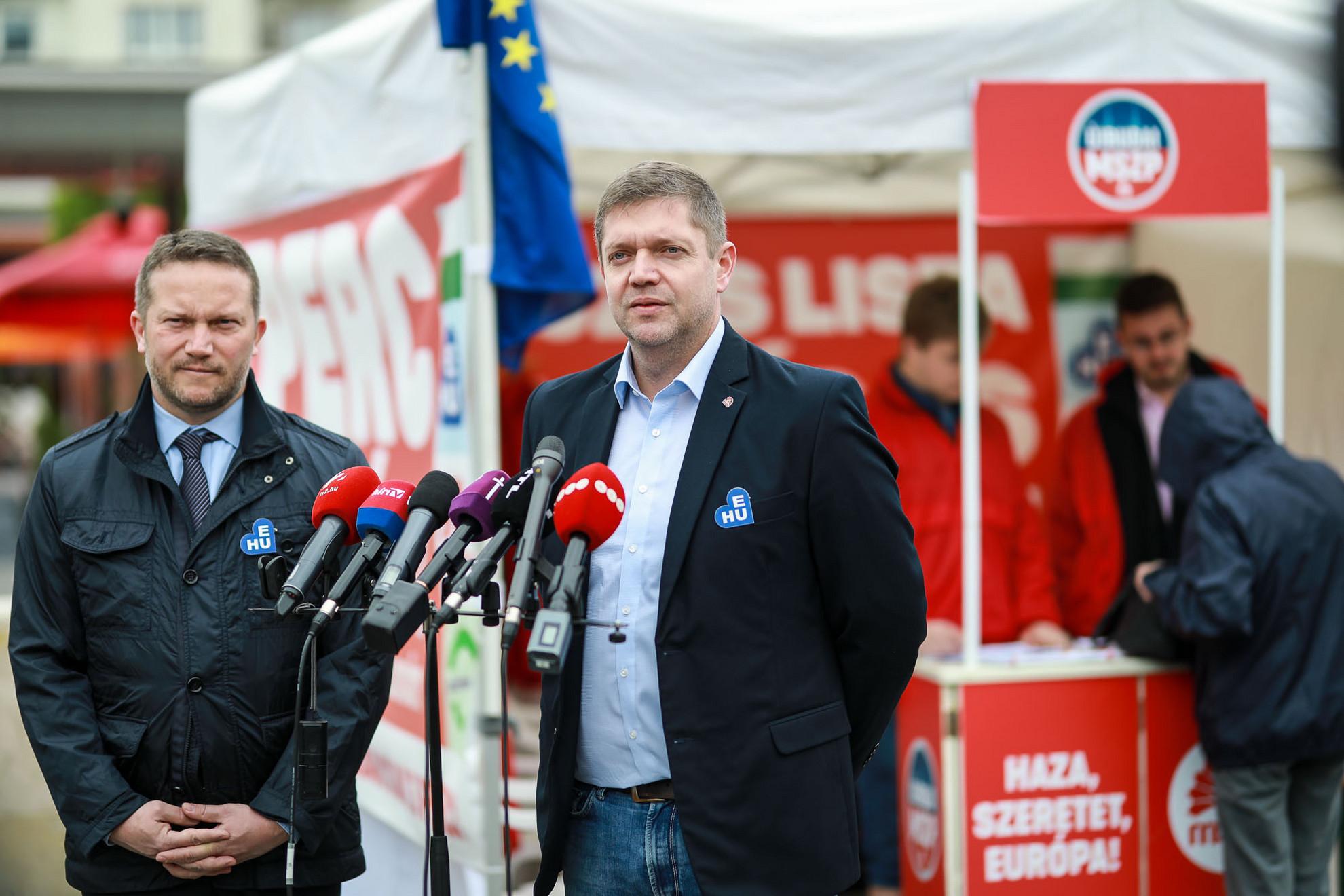 Ujhelyi István és Tóth Bertalan