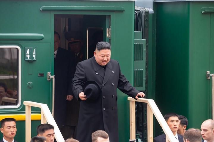 Megérkezett Oroszországba Kim Dzsong Un páncélvonata
