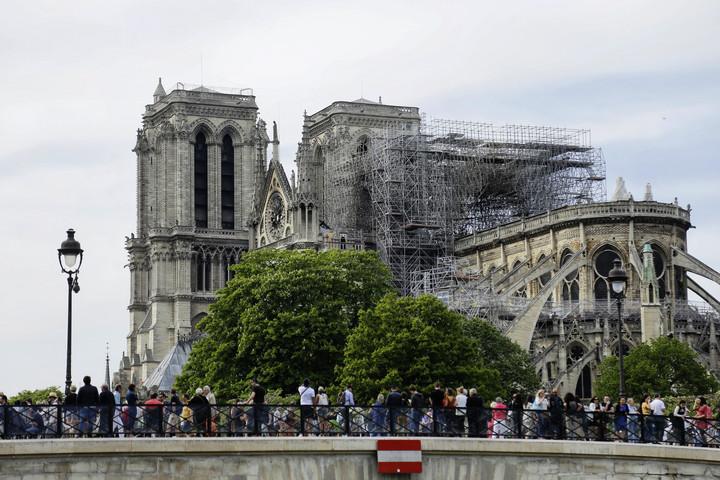 A tűzvész óta először tartottak misét a Notre-Dame-ban