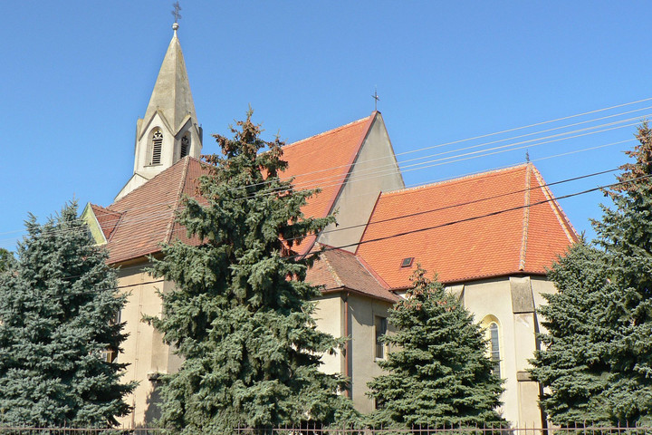 Pozsonypüspöki temploma