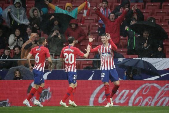 Legyűrte a Valenciát az Atlético, még nem bajnok a Barcelona