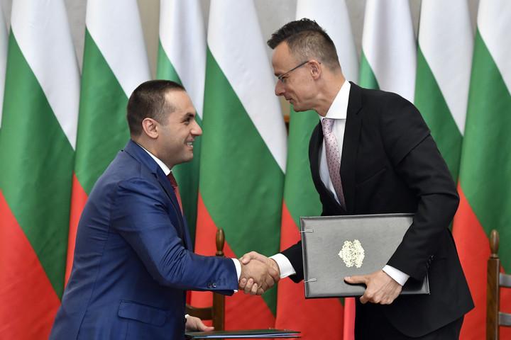 Szijjártó Péter: Az energetika határozza meg a magyar-bolgár kapcsolatokat