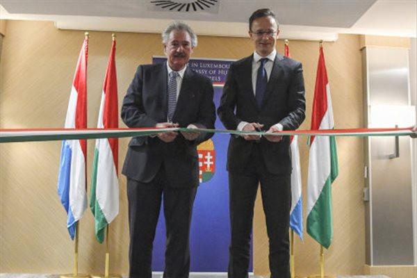 Magyarország diplomáciai képviseletet nyitott Luxembourgban