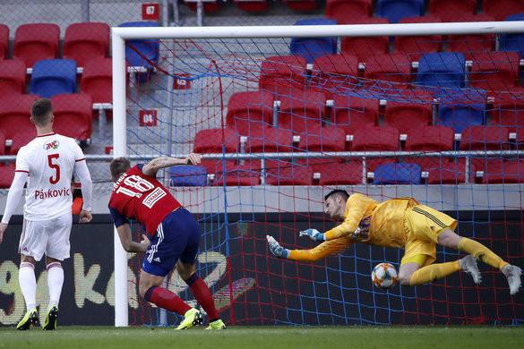Magyar Kupa: Futács góljával győzte le a Vidi a Debrecent