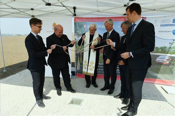 Logisztikai központot épít a Katolikus Karitász