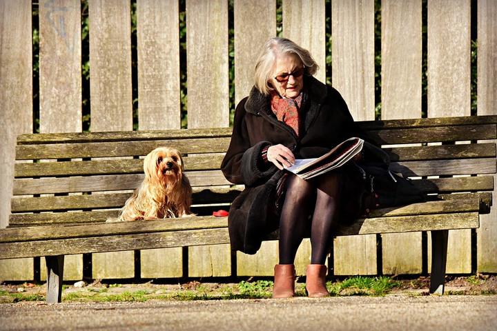 A háziállatok segíthetnek az idősebb embereknek