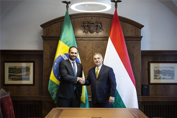 Orbán Viktor: A legfontosabb politikai kérdésekben egyetértés van Brazília és Magyarország között