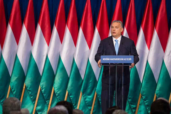 Orban announces EP programme