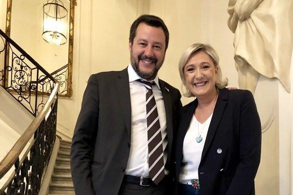 Májusban közös kampánygyűlést tart Salvini és Le Pen