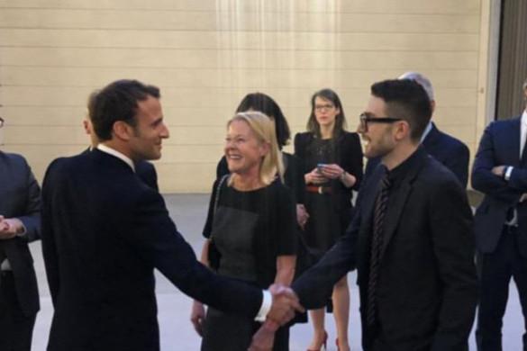 A francia elnöki palotában találkozott Macron és Alex Soros