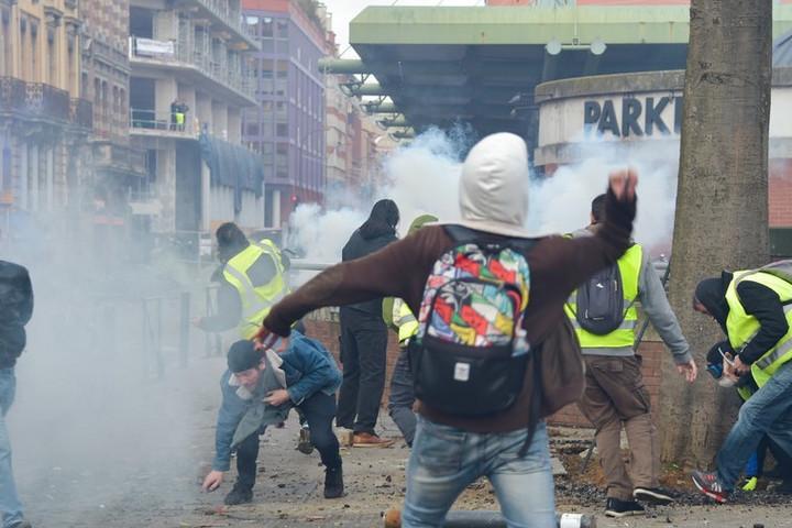 Toulouse-ban összetűzések voltak
