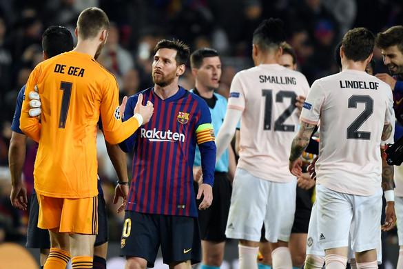 A Barcelona kiejtette a Manchester Unitedet a BL-ből