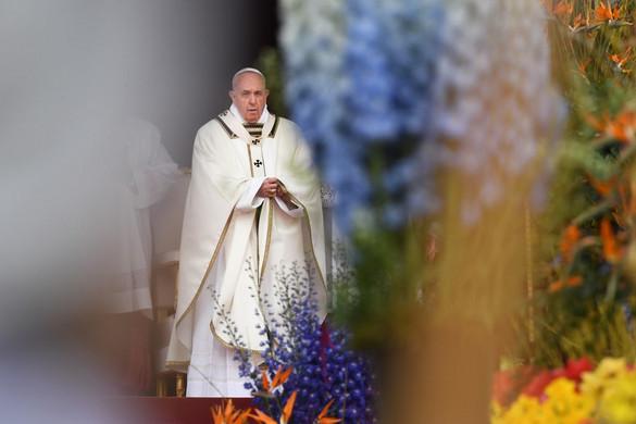 A véres konfliktusok megállítását kérte a pápa