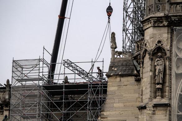 Hétfőn megkezdődik a Notre-Dame fő orgonájának restaurálását