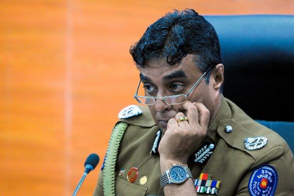 Lemondott Srí Lanka-i rendőrparancsnok