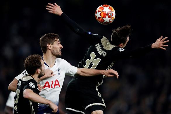 Az Ajax egygólos előnnyel várja a Tottenham elleni visszavágót