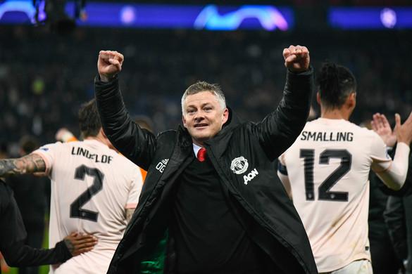 Újabb bravúrra készül a Manchester United a BL-ben