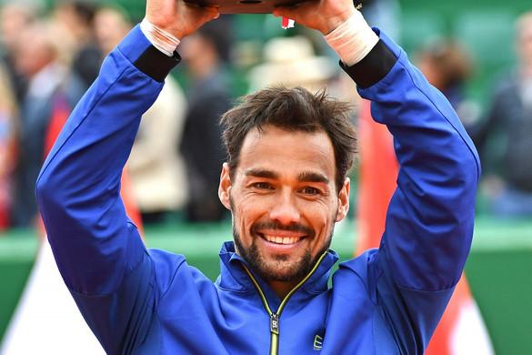 A Nadalt is legyőző olasz Fognini egymillió eurót nyert Monacóban