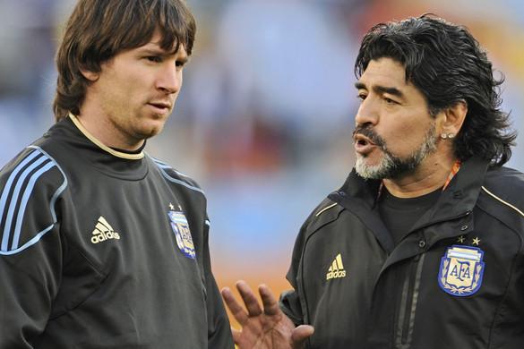 Nehéz sorrendet állítani Di Stéfano, Maradona és Messi között