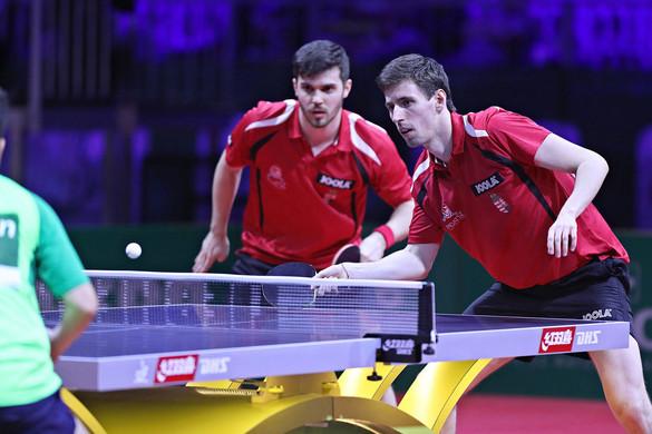 Két magyar páros is nyolcaddöntős lett