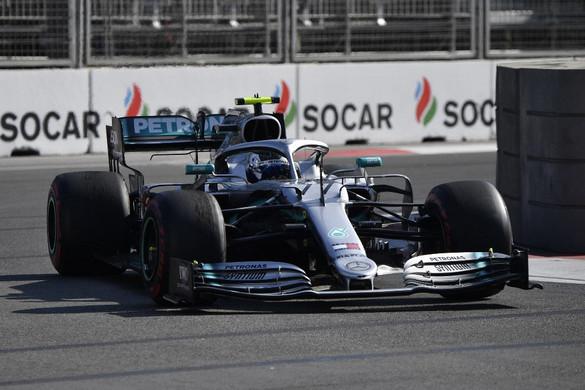 Bottas nyerte az Azeri Nagydíjat, történelmet írt a Mercedes