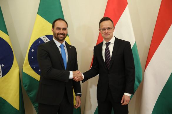 Szijjártó: Alapvető érdeke Magyarországnak az együttműködés Brazíliával