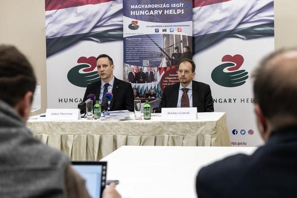 Megalakult a Hungary Helps ügynökség