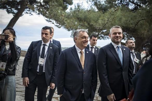 Orbán Viktor a Közép-Kelet-Európa csúcson vesz részt Horvátországban