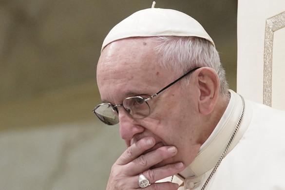 Ferenc pápa: A diadalittas világra Jézus alázattal válaszol