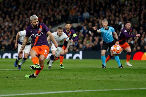 Bajnokok Ligája: A Tottenham legyőzte a Manchester Cityt