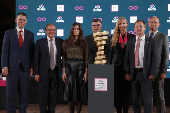 Budapestről indul jövőre a Giro d'Italia