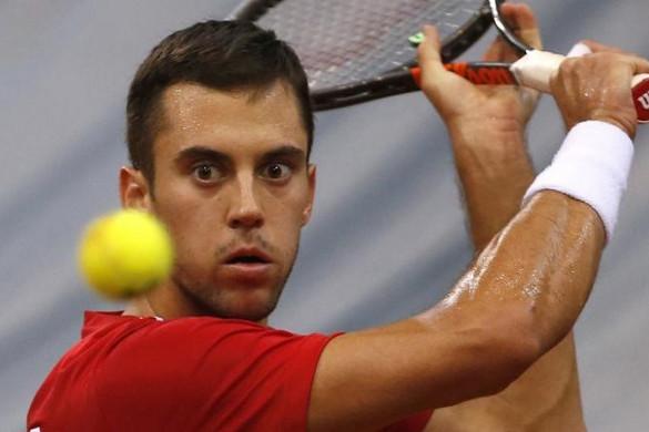 Tenisz: Győzelemmel kezdett Györe László Budapesten