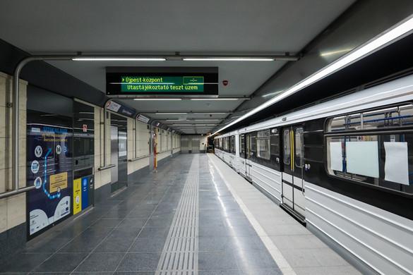 Szilveszter éjjel is jár a metró és a HÉV