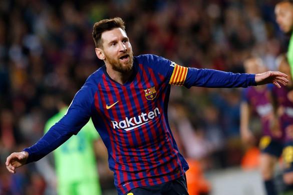 Messi gólja aranyat ért a Barcának