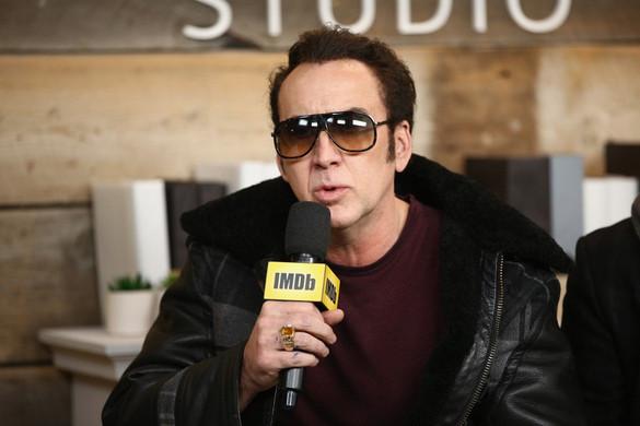 Megcsúszott a karaokén Nicolas Cage
