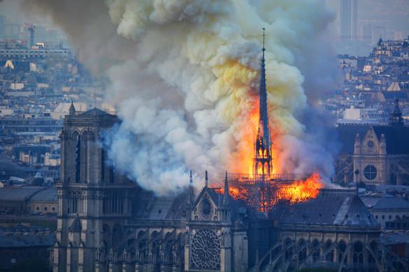 A műkincsek 90 százalékát sikerült kimenteni a Notre-Dame-ból