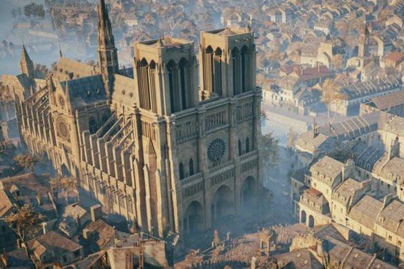 Egy videójáték segíthet a Notre-Dame újjáépítésében