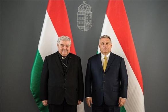 Orbán Viktor a gyulafehérvári érsekkel tárgyalt
