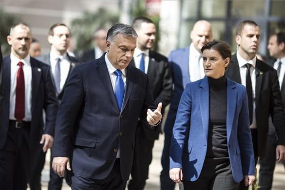 Orbán Viktor: Szerbia mielőbbi uniós tagsága minden EU-tagország érdeke