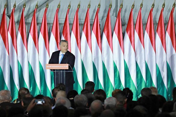 Orbán Viktor a Zeneakadémián mond beszédet a nemzeti ünnep alkalmából