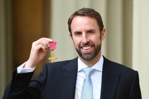 Rangos kitüntetést kapott Gareth Southgate