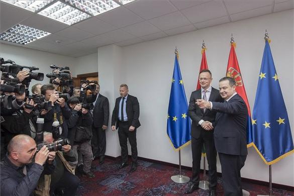 Szijjártó Péter: Magyarország érdeke az erős Szerbia