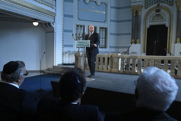 Trócsányi: A magyar kormány nemet mond az antiszemitizmusra