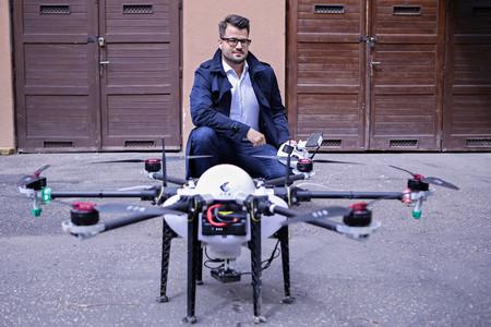 A drónoknak nem  csak térkép e táj