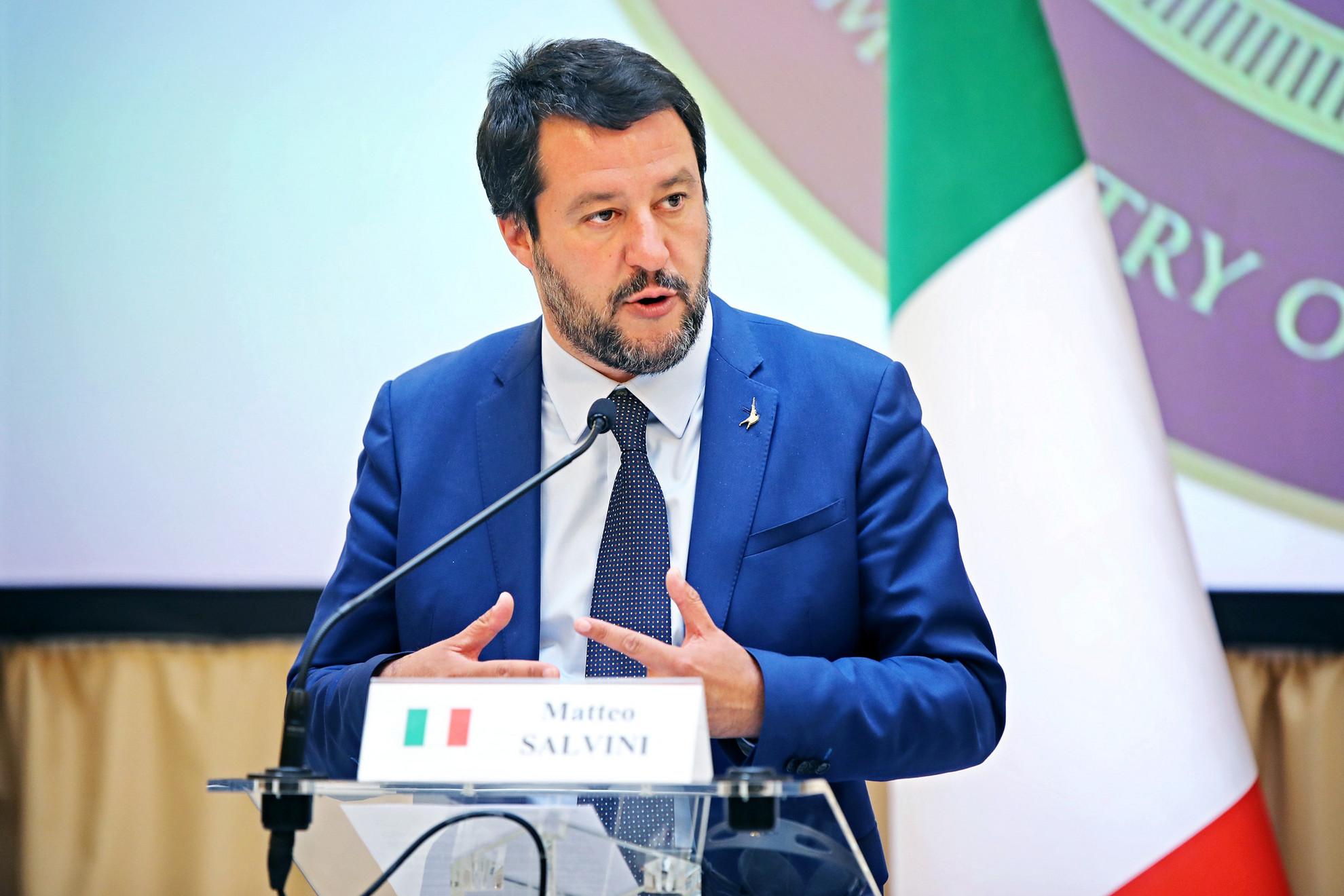 """Matteo Salvini: Arra számítunk, hogy """"az új Európa"""" május 27-étől védeni fogja a külső határait"""