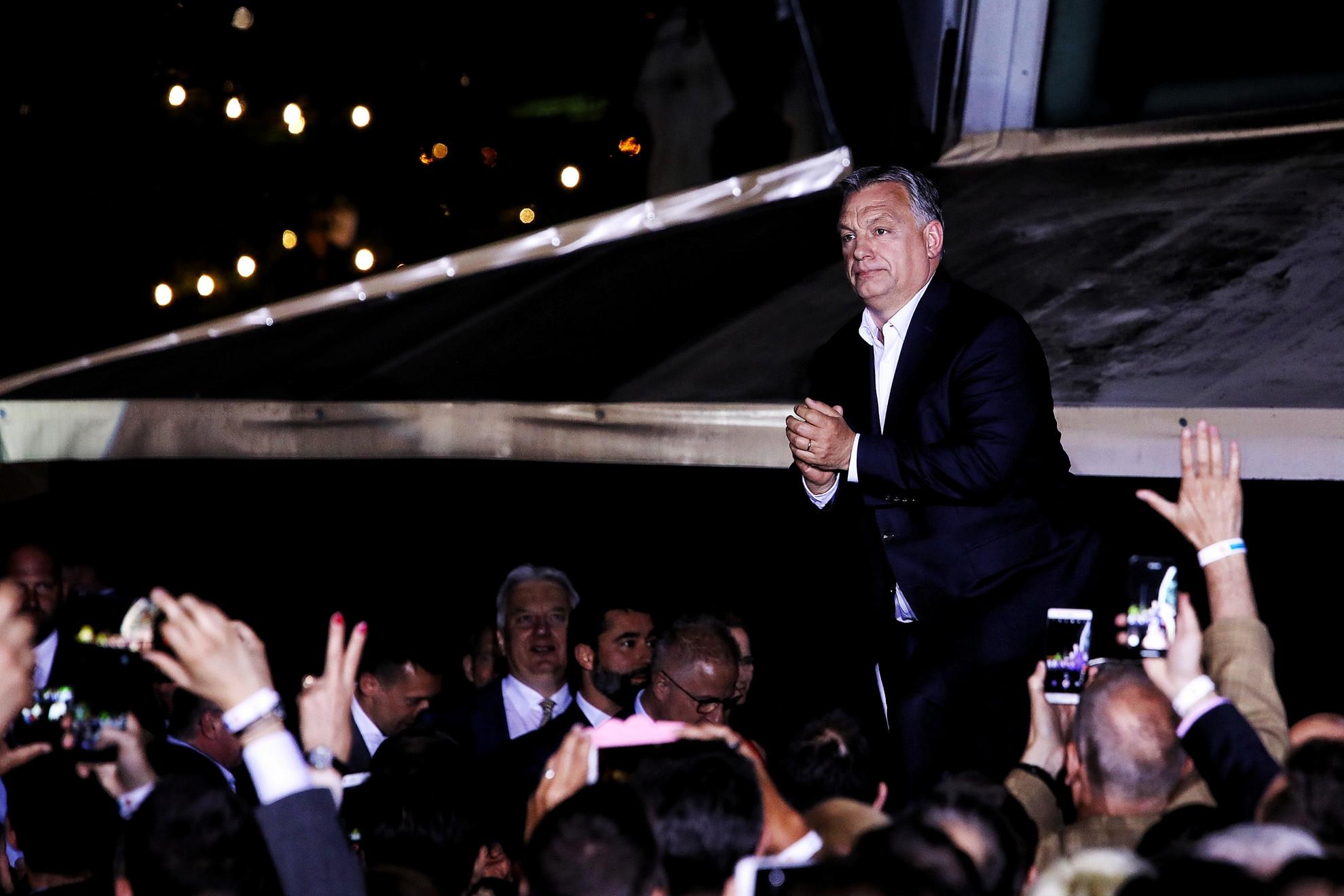 Orbán: Rekordrészvétel mellett rekordgyőzelmet arattunk