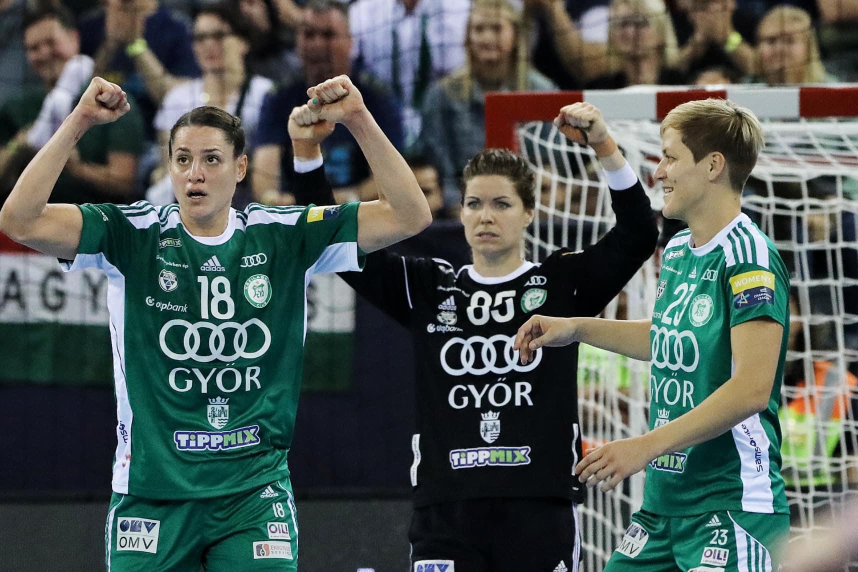 A Győri Audi ETO KC ötödik alkalommal nyerte meg a női kézilabda Bajnokok Ligáját