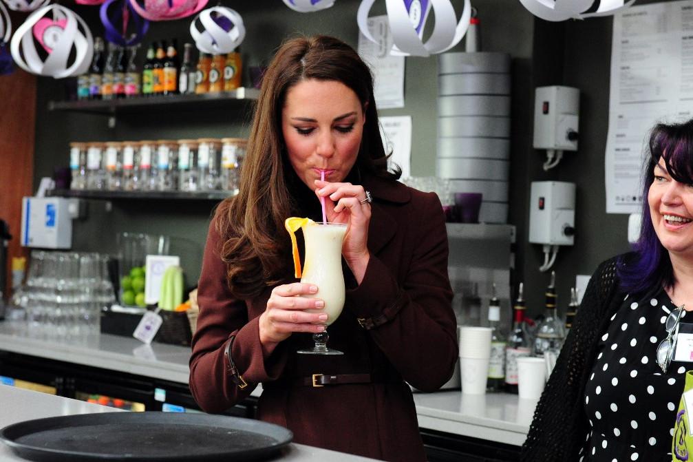 Katalin hercegnő a patrónusa a Brink bárnak, ahol maga is megkóstolta az italokat